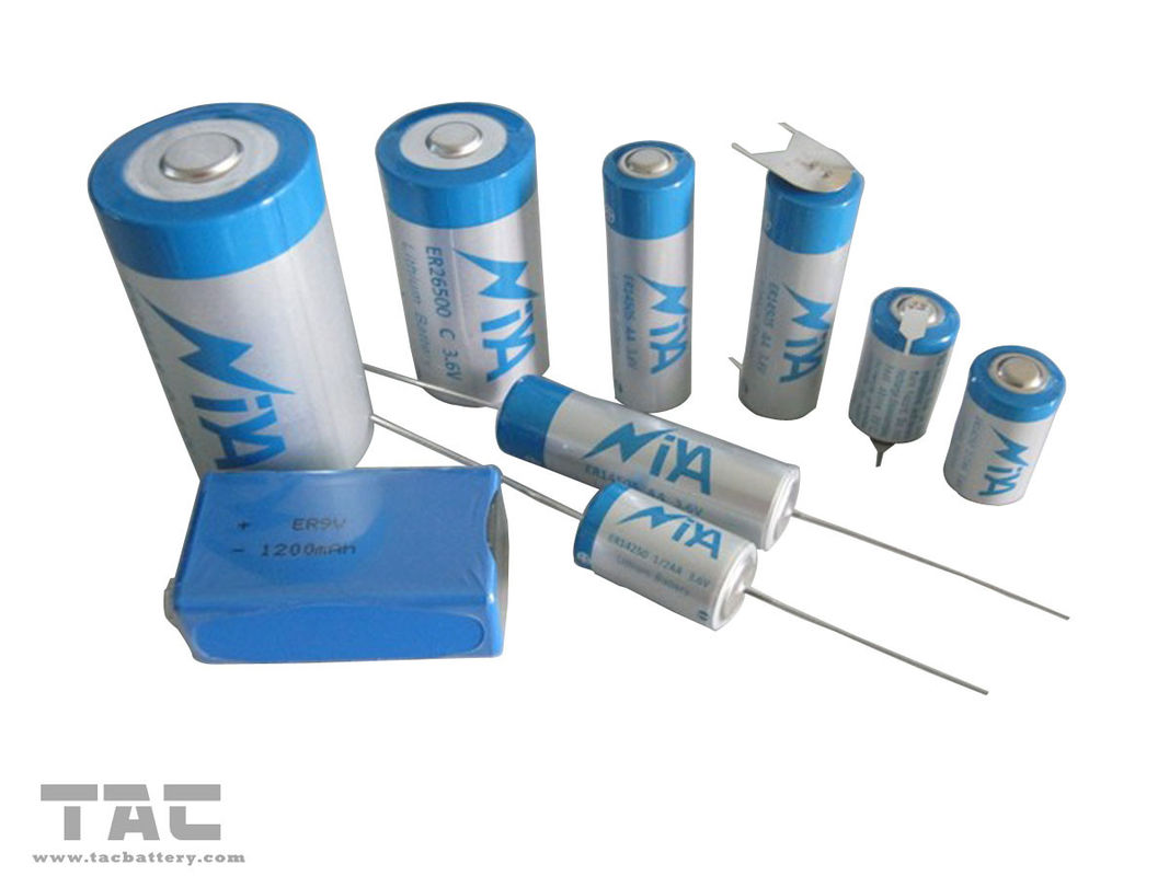 Low Self-discharge LiSOCl2 Battery 3.6V for Communication Equipment