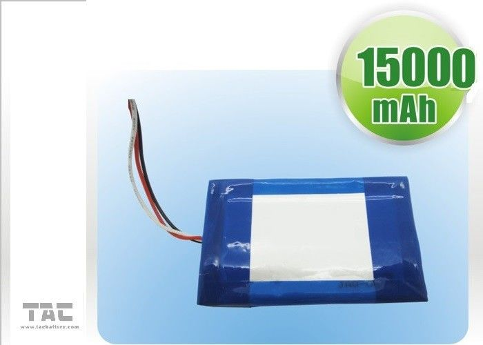 IEC Standard Polymer Lithium Ion Batteries For Tablet PC 1.6ah 3,7V 0850110 Charge And Discharge 0.5C