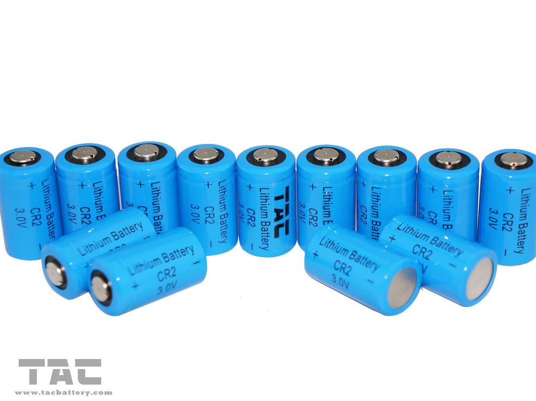 Light weight and high power 3.0V CR2 800mAh Li-Mn Battery with High Cycle Life