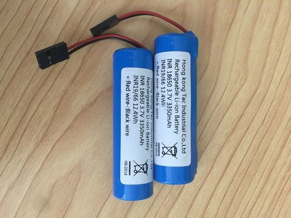 18650 Lithium-ion Battery Pack 3350mah  Similar Panasonic For Bike Head Lighting