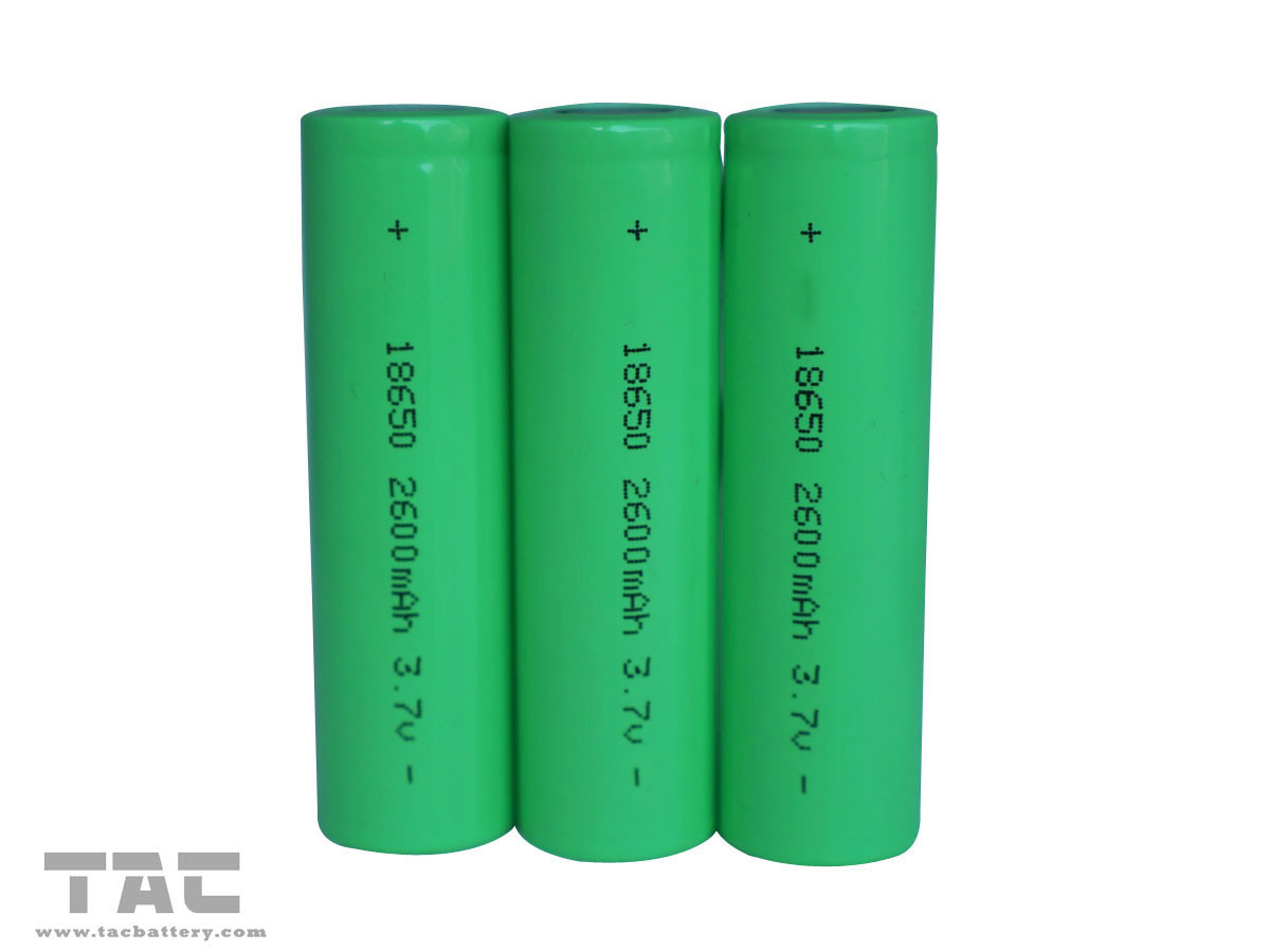 3.7V 18650 2600mAh Lithium ion Battery Similar With Samsung  for Notebook